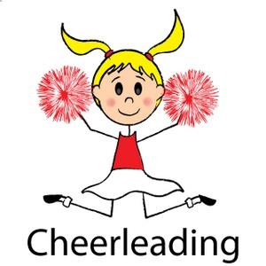 Cheer clipart cheerleading. Cheerleader stunt