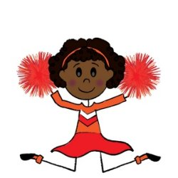 Cheer clipart elementary. Practice j e manch