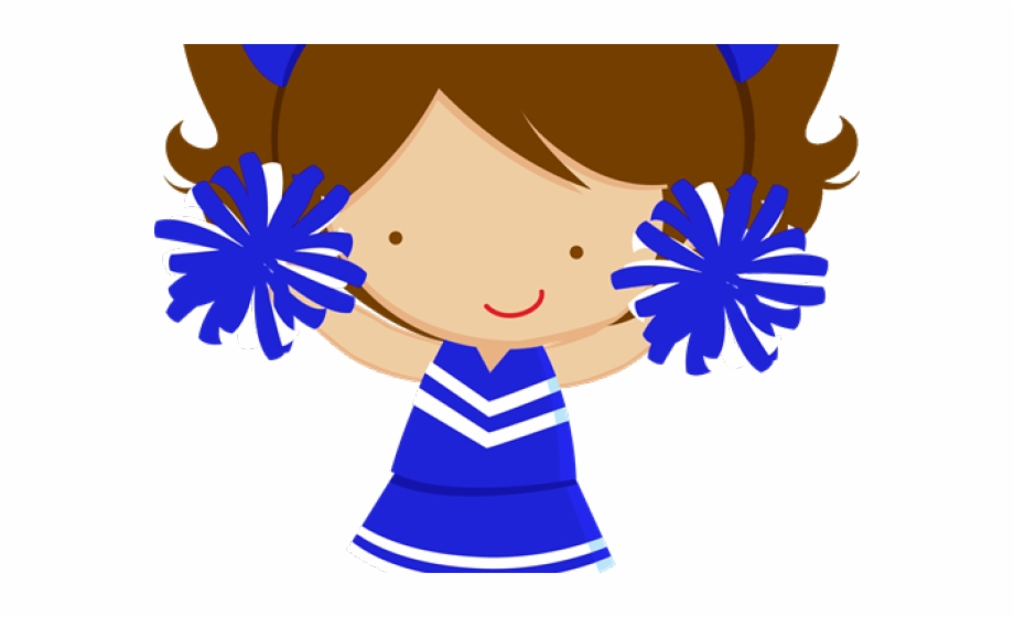 Cheerleader png . Cheer clipart elementary