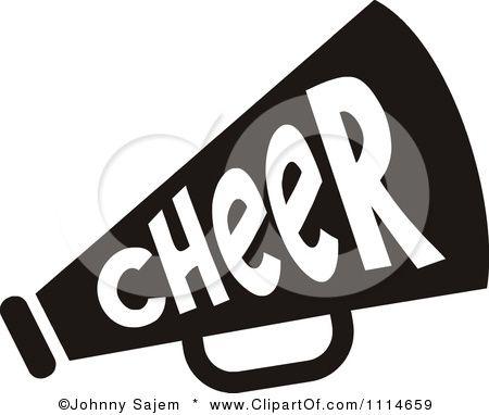 Clip art royalty free. Cheer clipart megaphone