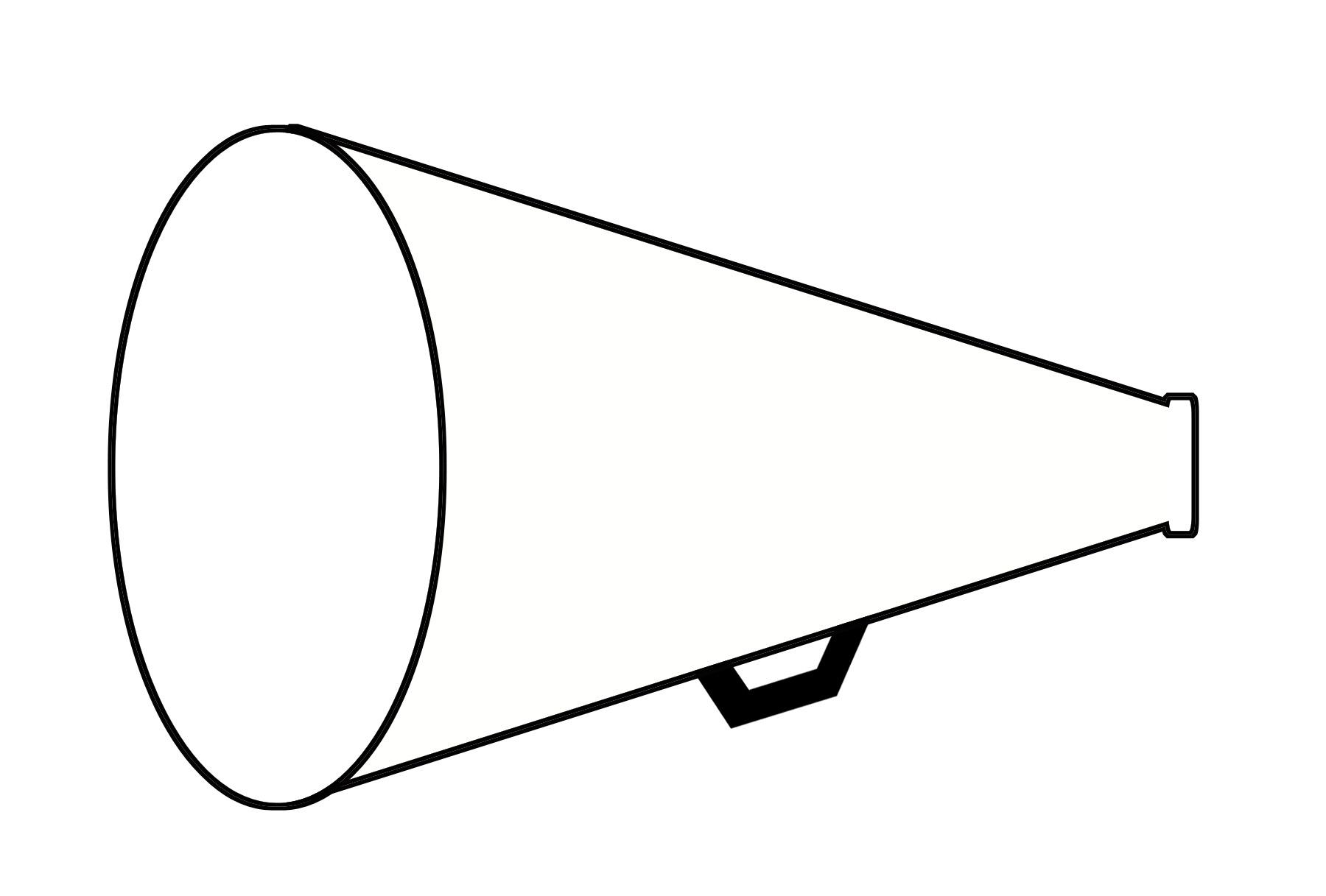 Unique collection digital h. Cheer clipart megaphone