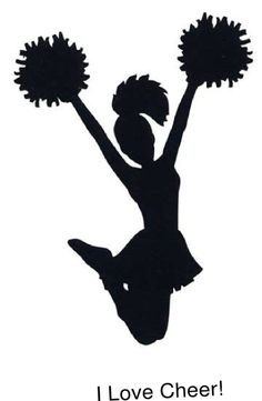 Cheerleading poms clip art. Cheer clipart pom pom