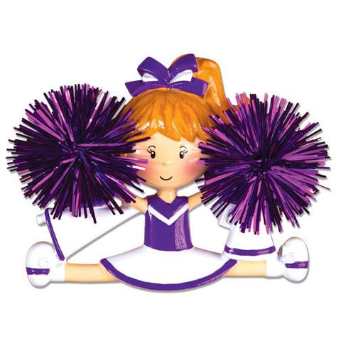 Cheer clipart purple. Sports ornaments polarx orp