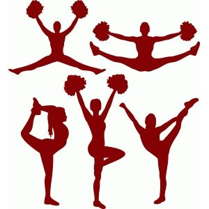 Search for drawing at. Cheer clipart red
