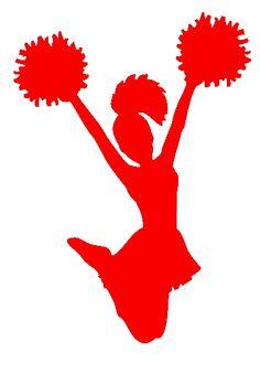 best clip art. Cheer clipart red