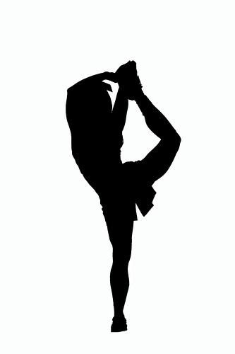 Cheer clipart silhouette. Clip art at getdrawings