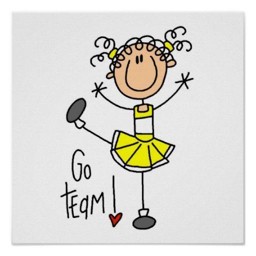 Cheer clipart stick figure. Yellow cheerleader t shirts