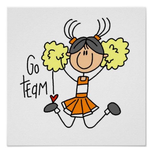 Free cheerleader download clip. Cheer clipart stick figure