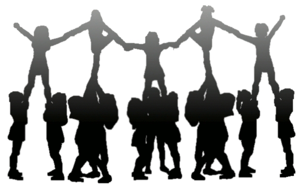 Free cliparts download clip. Cheer clipart stunt