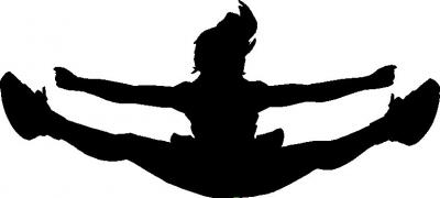 . Cheer clipart toe touch