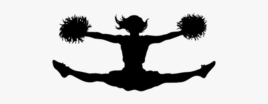 Gymnastics cheerleading . Cheer clipart toe touch