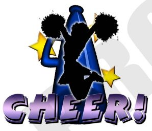 Cheerleading tryouts today station. Cheer clipart tryout
