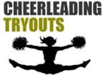 Cheer clipart tryout. Cheerleading tryouts today station