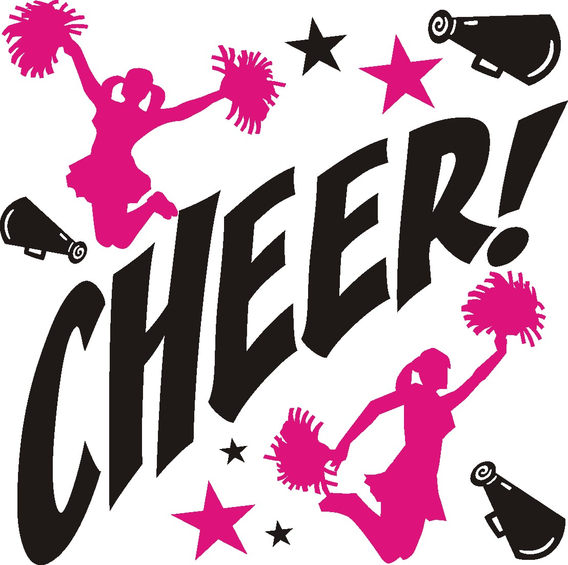 Cheerleading tryouts portal . Cheer clipart tryout