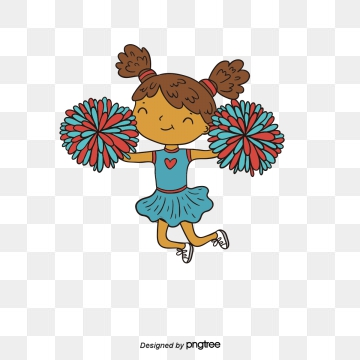 Cheer clipart vector. Cheerleading png psd and