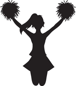 Cheer clipart vector. Competitive