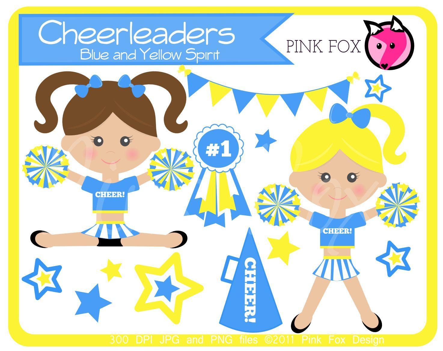 Cheer clipart vintage. Instant download cheerleader clip