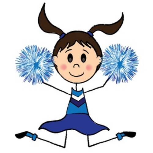 Cheer clipart cartoon. Free cheerleaders cliparts download