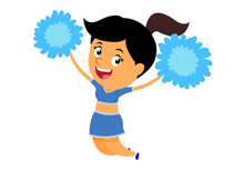 Air clipart current. Search results for cheerleader