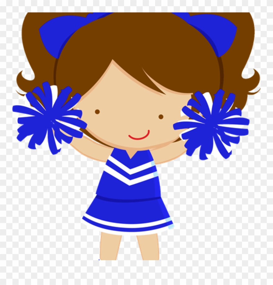 Cheer clipart. Images of cheerleaders child