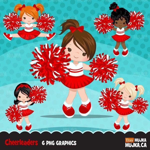 Cheerleading clipart sport. Cheerleader sports graphics pom