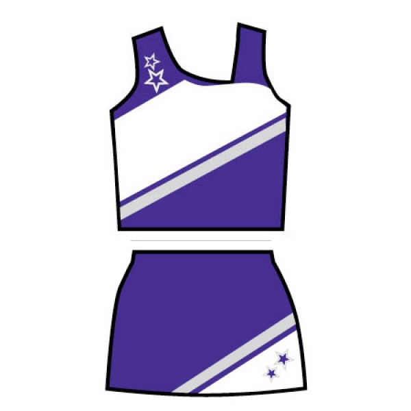 Set ut purplewhite. Cheer clipart clothes