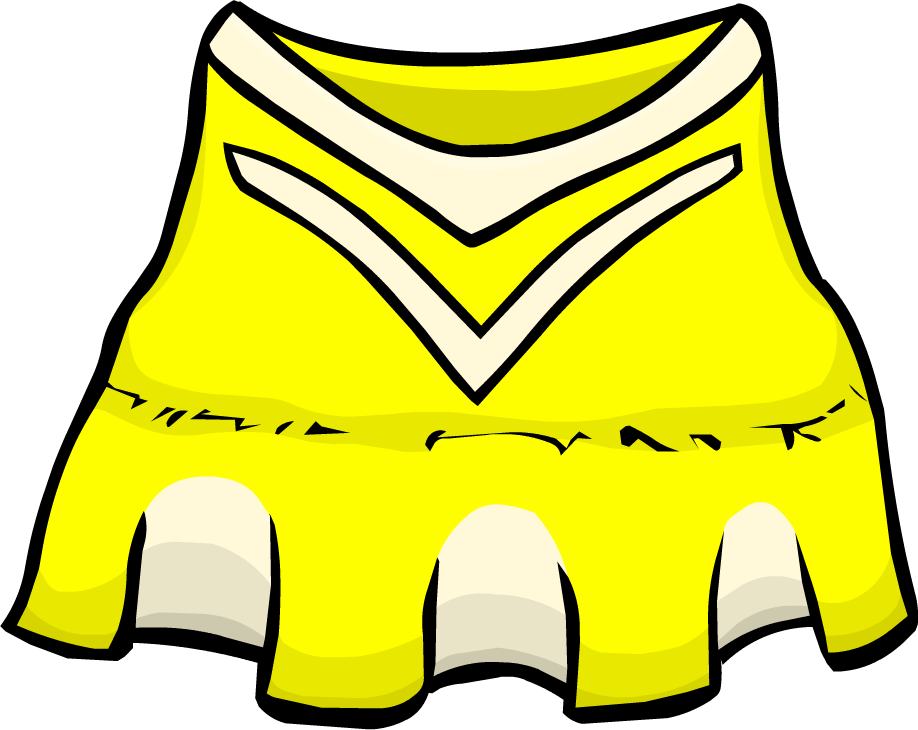 clipart clothes cheerleader