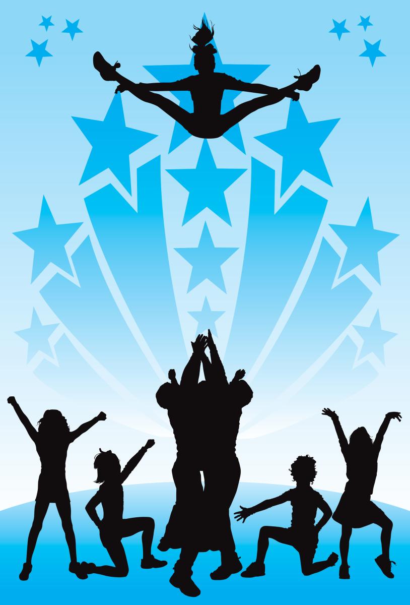 Transparent Cheering Clipart - Transparent Cheer Dance Png , Free  Transparent Clipart - ClipartKey