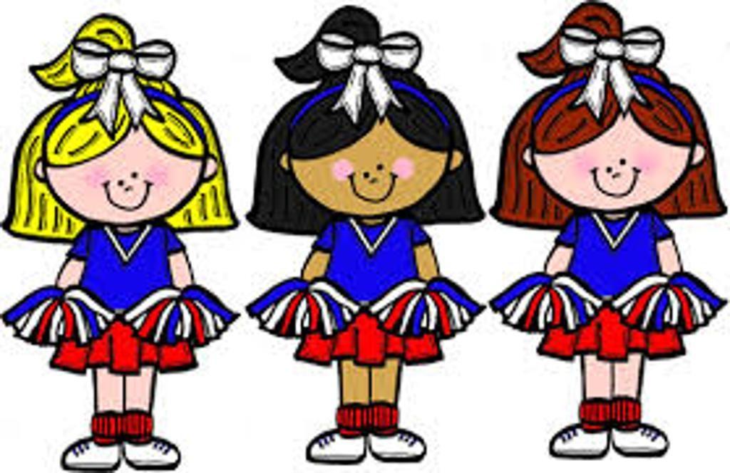 Images of cheerleaders cheerleader. Cheer clipart child