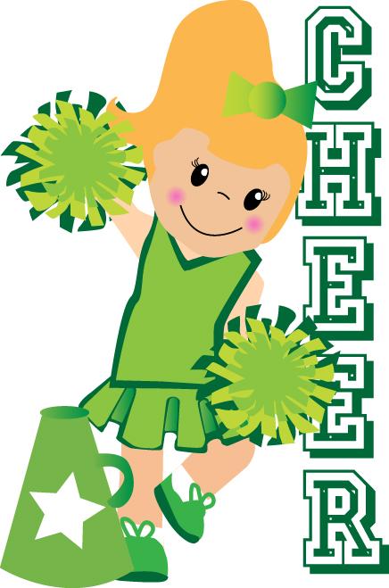 Cheerleading clipart green. Just bubbly kid stuff