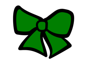 Cheer bow free images. Cheerleading clipart green