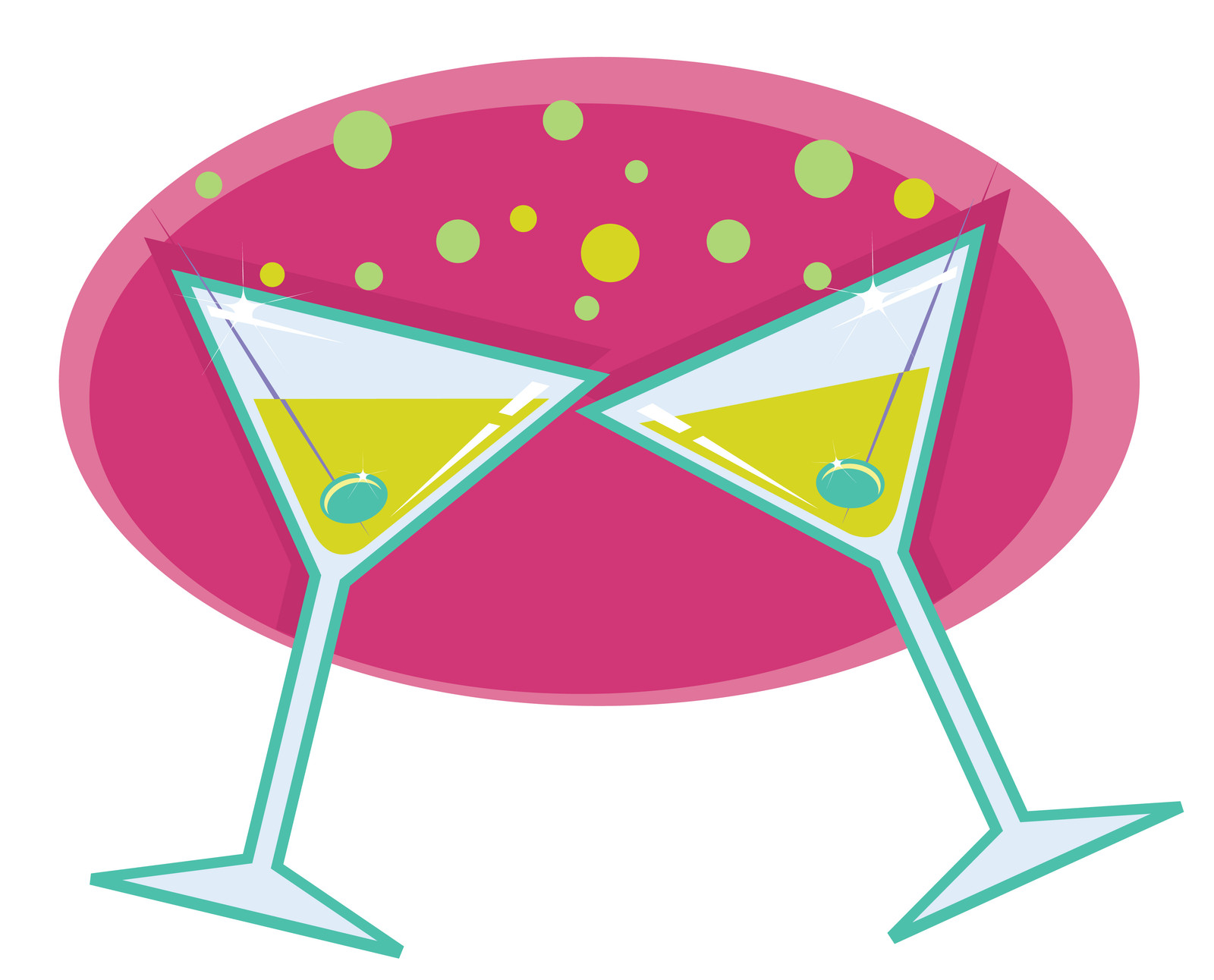 Wine glass designs free. Cheers clipart