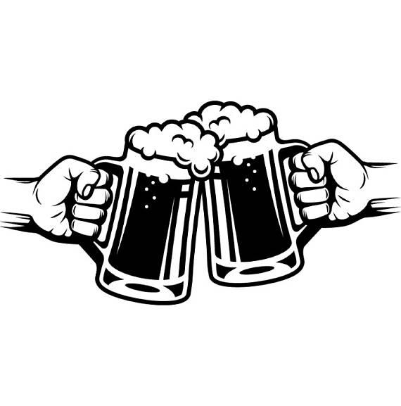 Logo mug glass pub. Bar clipart beer bar