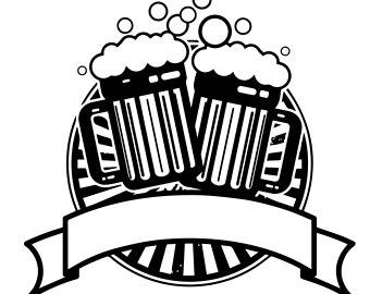 Cheers clipart beer mug. Clip art etsy cerveza