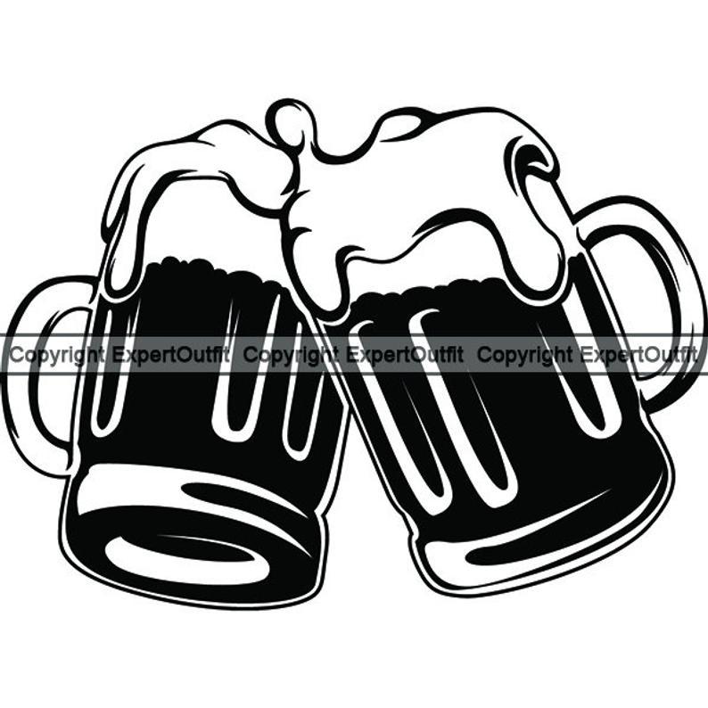 Celebrate drinking glass stein. Cheers clipart beer mug