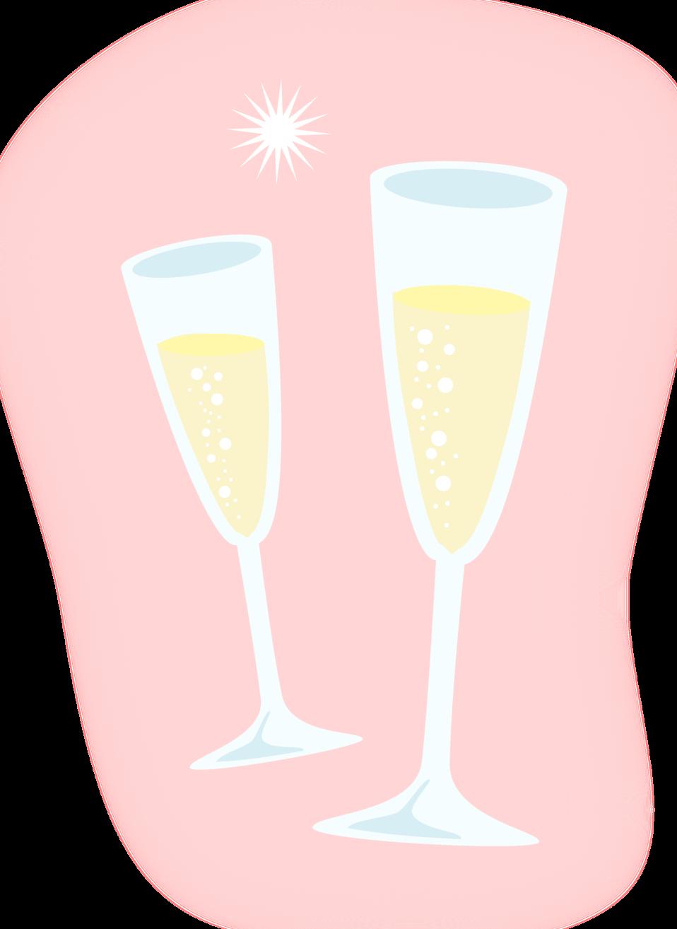 Flutes clipart champaigne. Champagne free stock photo