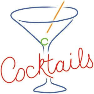 Cocktail clipart retro cocktail. This is a clip