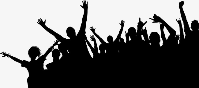 Crowd clipart cheered. Cheering cheer crowded png