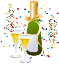 Free champagne cliparts download. Cheers clipart new years eve