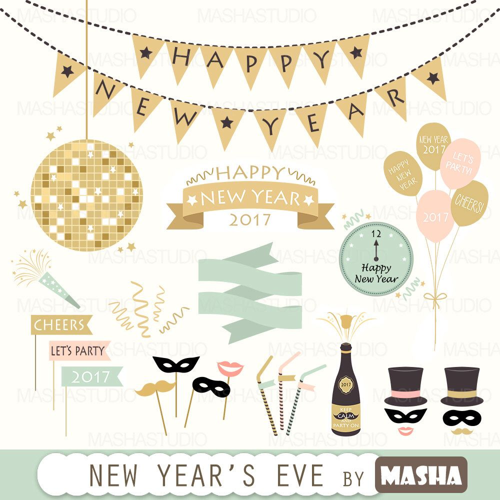 Cheers clipart new years eve. Pin by nadia on