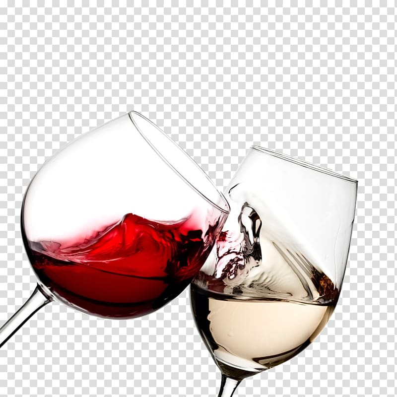 Cheers clipart wine glass. Red and white glasses