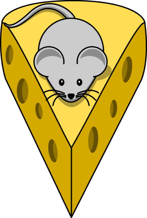 Free mouse and animations. Cheese clipart animated