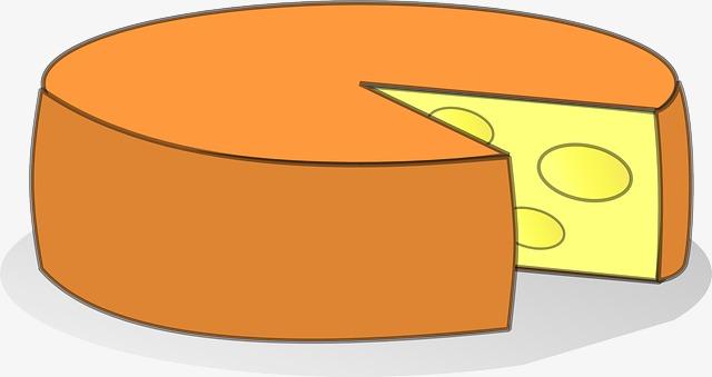 Orange peel tunnel ingredients. Cheese clipart cartoon