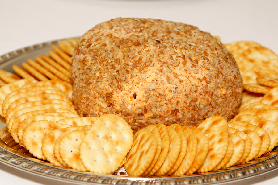 Cheese clipart cheese ball. And crackers by digitalphotique