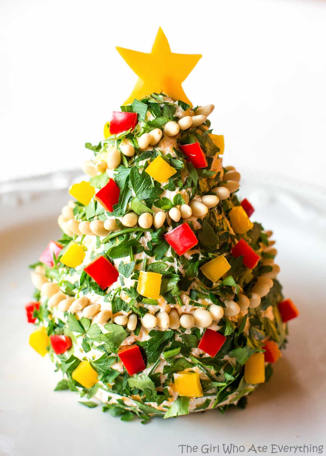 Cheese clipart cheese ball. Christmas tree the girl