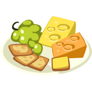 Cheese clipart cheese cracker. Image moon and crackers