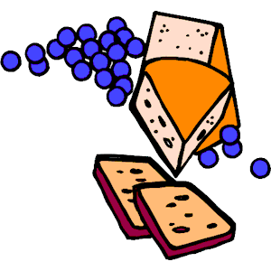 Cheese clipart cheese cracker. Crackers cliparts of free