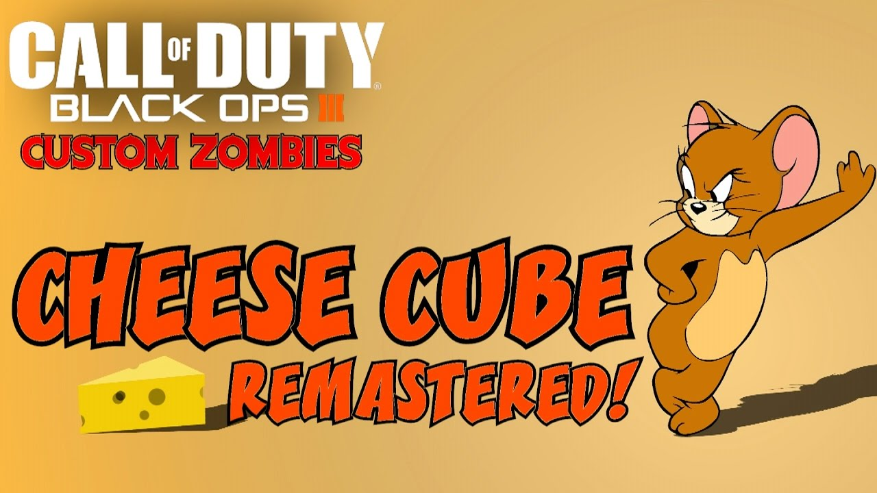 Re mastered black ops. Cheese clipart cheese cube