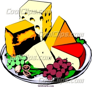 Cheese clipart cheese plate.