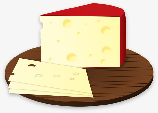 Bread on a slice. Cheese clipart cheese plate